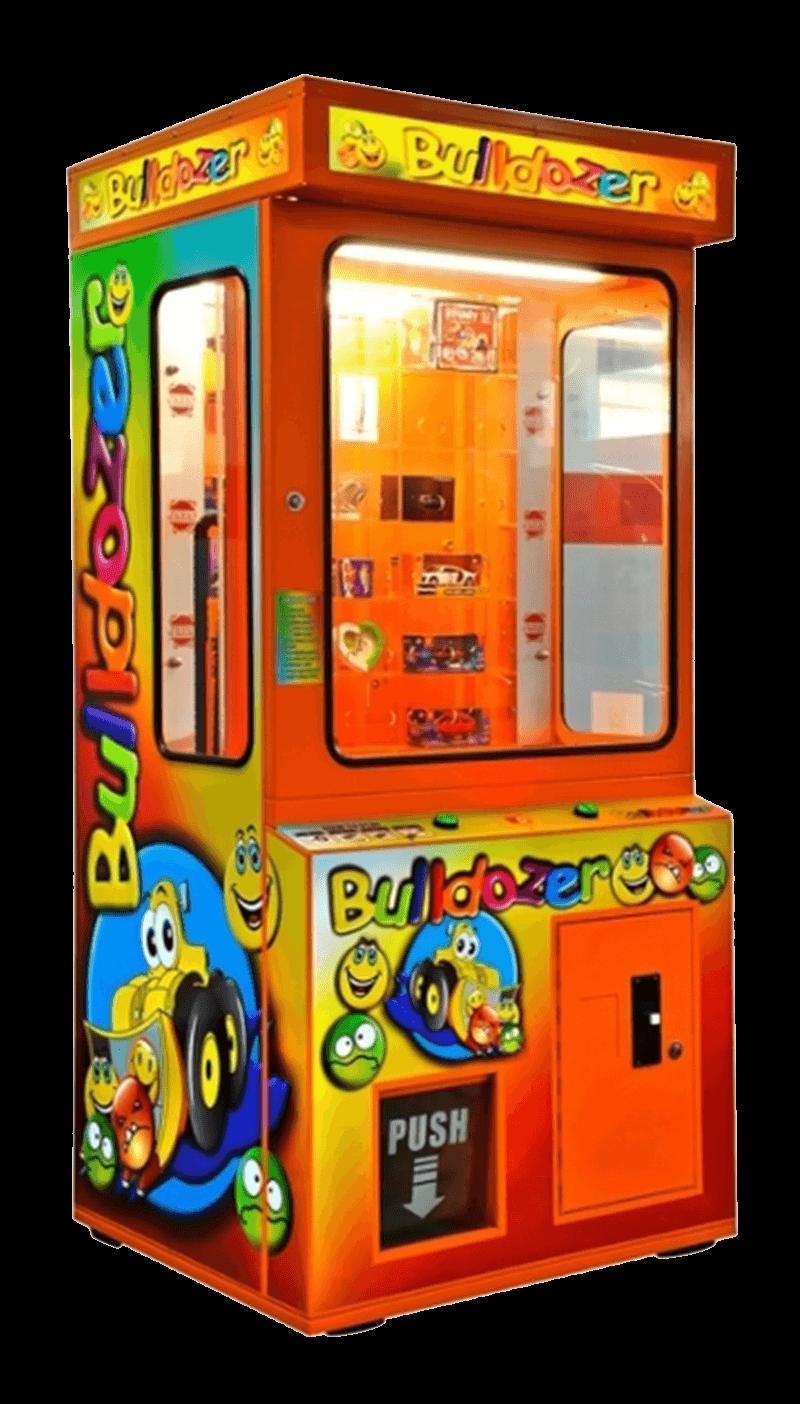 arcade machines bulldozer