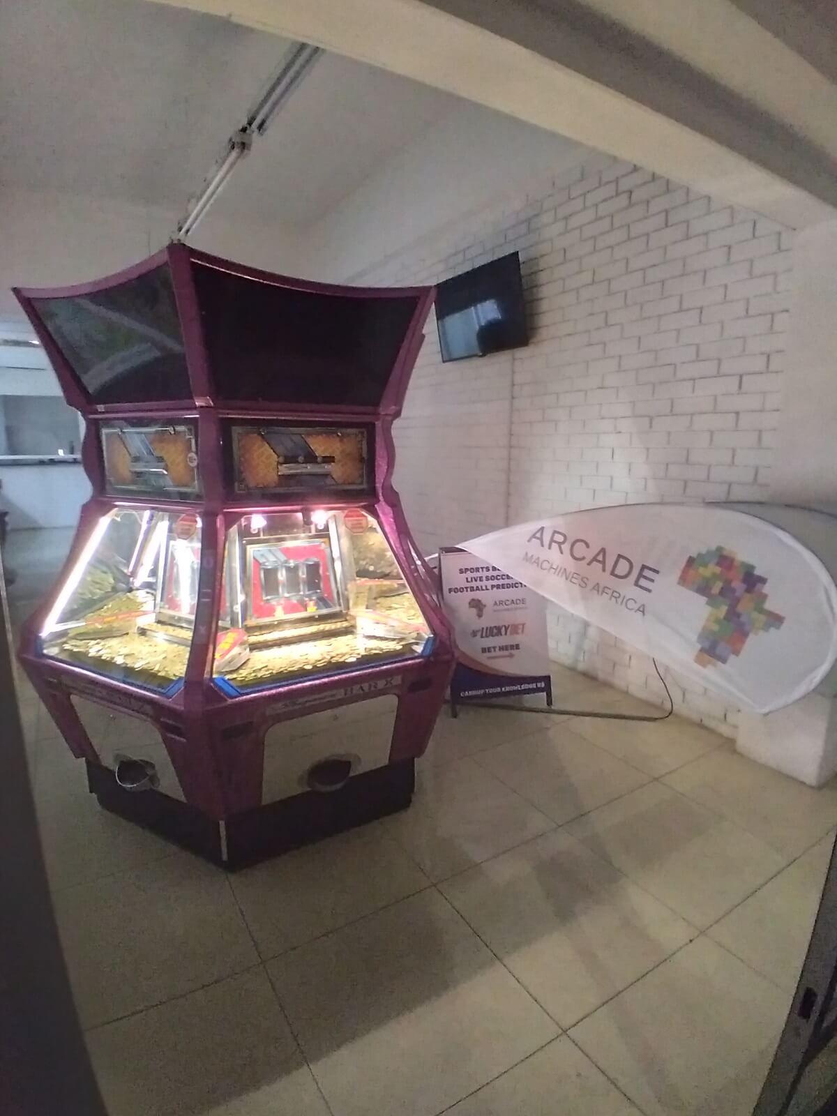Coin Pusher Amusement Machine