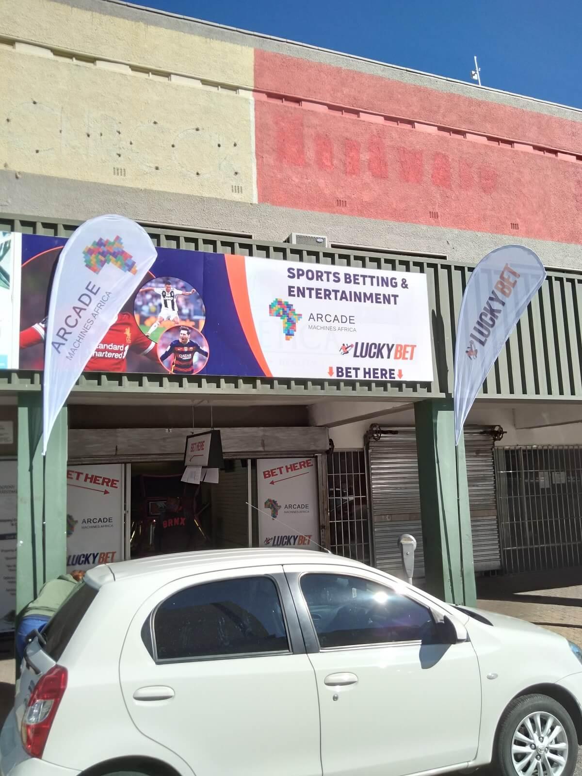 Amusement machines, gambling and sports betting Namibia