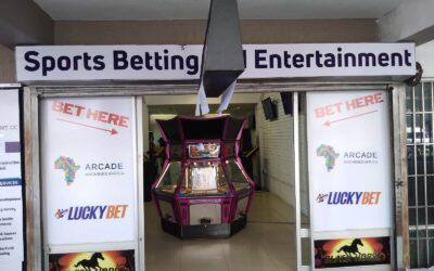 Sports betting and entertainment machines in Windhoek, Namibia